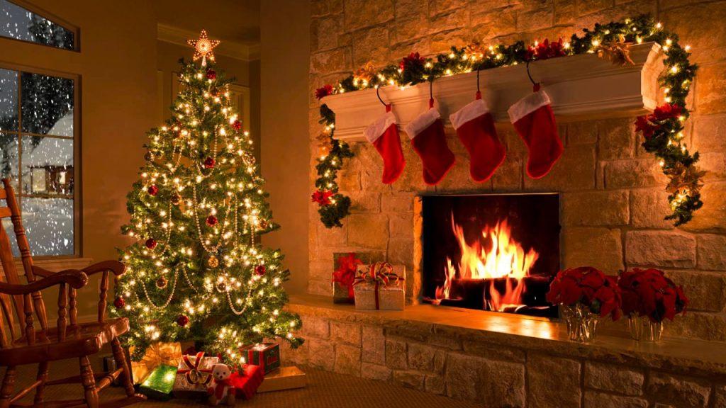 Пазете огъня ! Не трябва да гасне по време на Коледа.