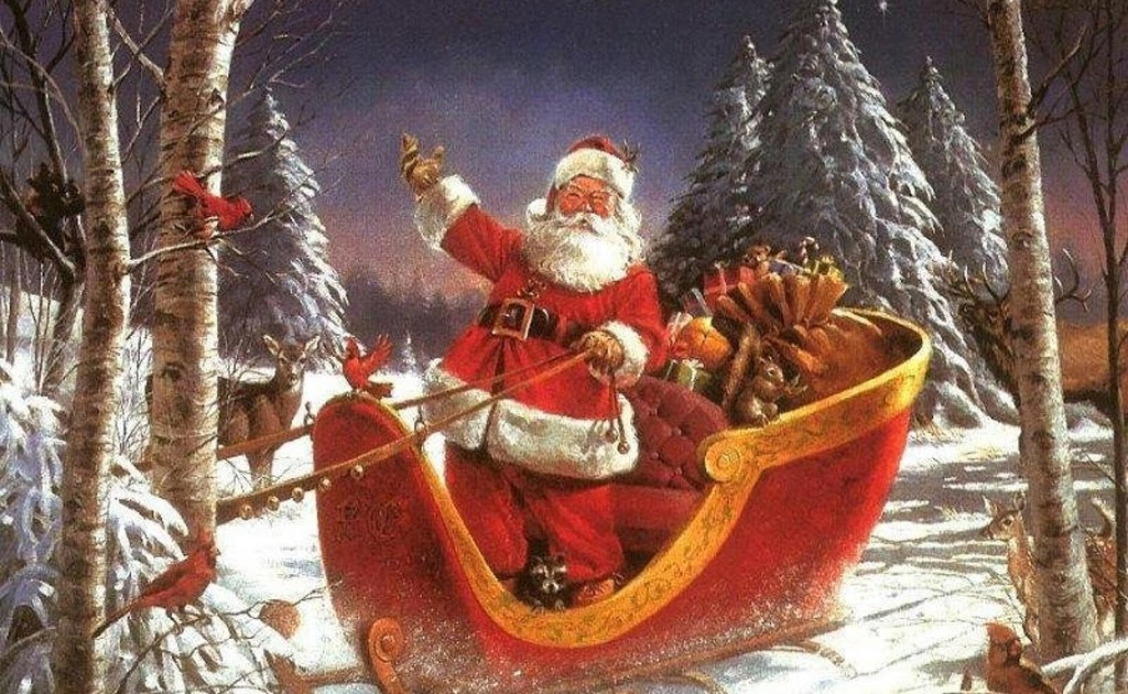 Дядо Коледа или Св. Василий