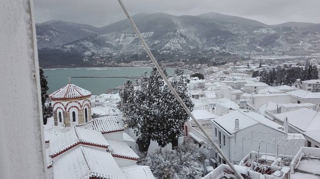 Времето в Гърция-януари 2015