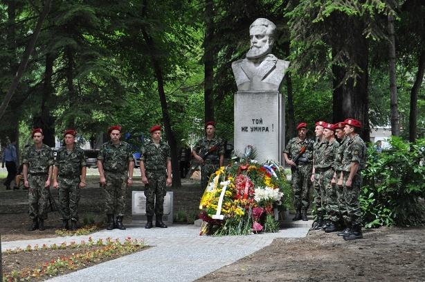 Паметника на Христо Ботев в Пловдив