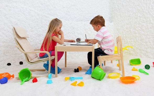Солна стая с отделение за деца