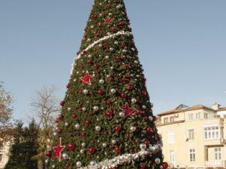Коледното дърво в Пловдив