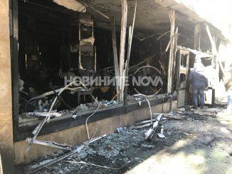 Ресторант на хотел в Стара Загора изгоря