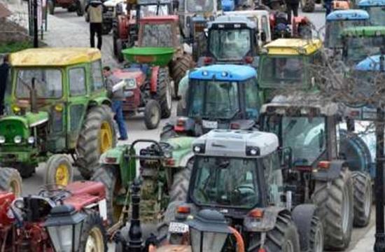 Блокада на фермери в Гърция